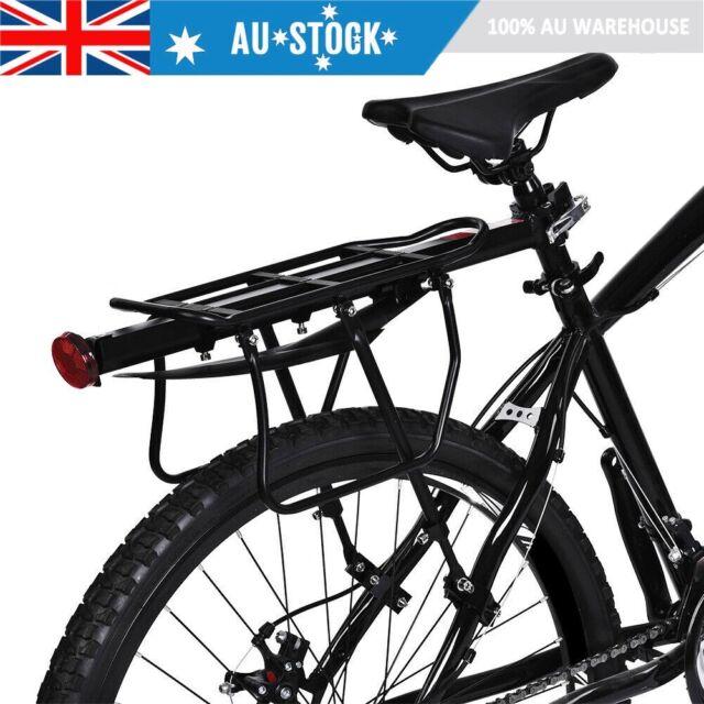 25kg Bicycle Mountain Bike Rear Rack Seat Mount Pannier Luggage Carrier MTB Road
