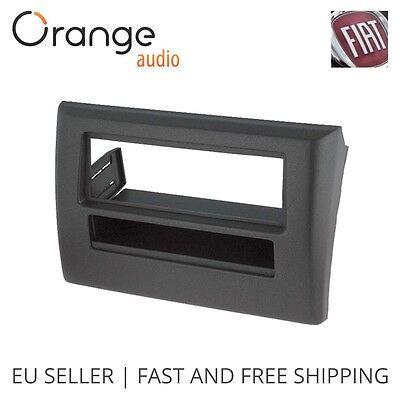 Sound-way Single din car radio stereo installation kit fascia adapter Fiat Grande Punto gray 1 din