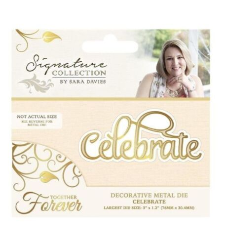 Crafter/'s Companion Celebrate Metal Die Cut Together Forever