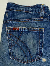 Fossil Jeans Starfire Cowgirl Blue 4 Short women denim distressed denim Cow Girl