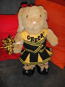 Build-A-Bear Workshop Bär Teddy TeddyBär mit Kleidung !! Häsin Hase Cheer