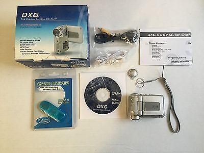 dxg digital video camera model 506v manual