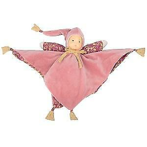 Moulin-Roty-Petit-Chose-Pink-Latex-Hand-Painted-Baby-Comforter-Blankie-Toy