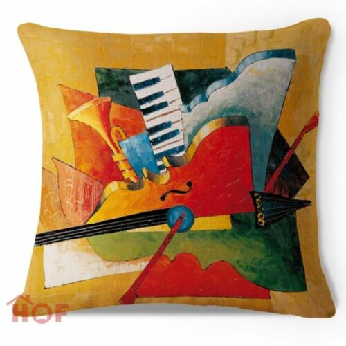 Art Animal Decorative Cotton Linen Throw Pillow Case Cushion Cover Sofa Car Gift