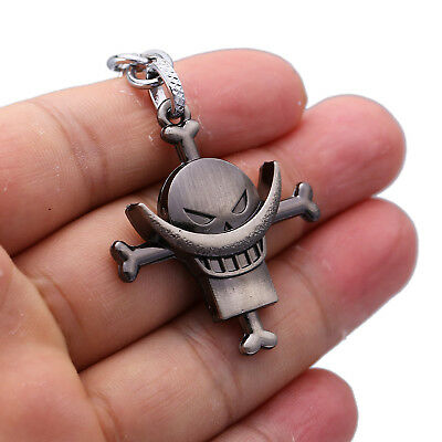 Anime One Piece Whitebeard Pirates Edward Newgate Pendant Keychain Key Ring