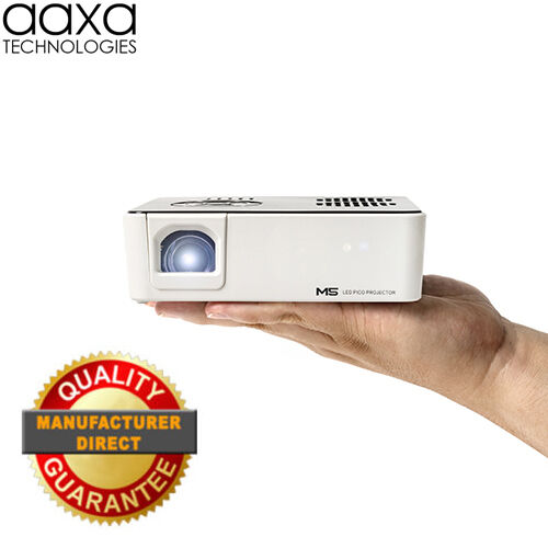 Aaxa M5 Pico Led Hd Projector, 900 Lumens, 1280x800 (refurbished)