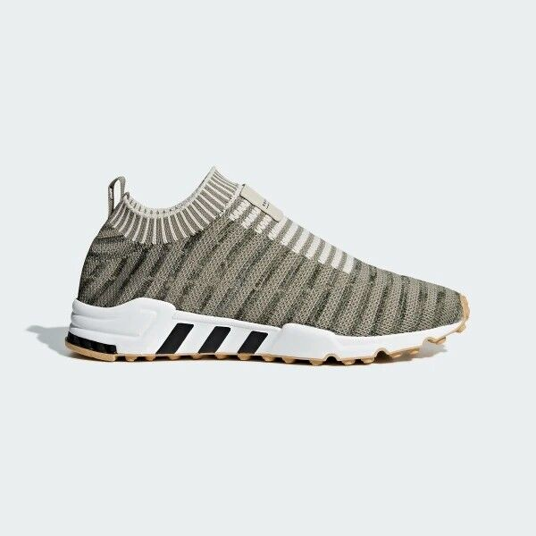 EQT Support Sock Primeknit Running shoes Casual Cargo-Brown-Gum B37533