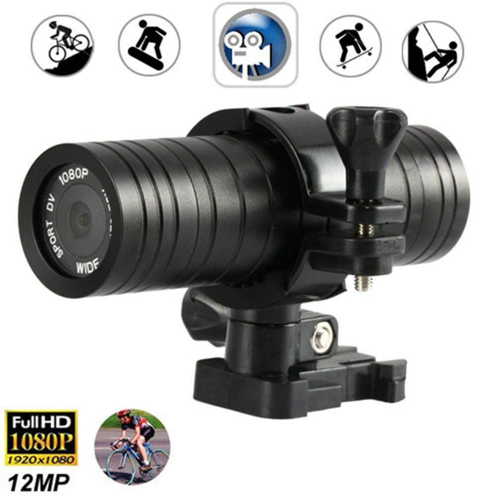 Sports Camera HD 1080P Helmet Motorcycle Camcorder DV Action DVR Video RecorderY Featured