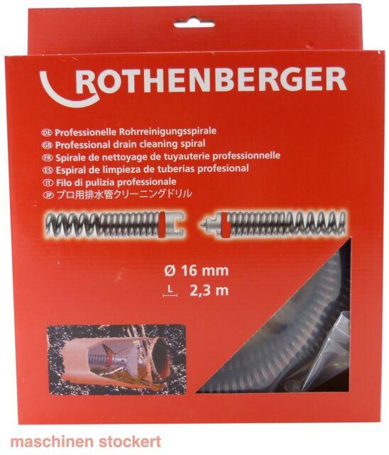 Rothenberger S-SMK Spirale 2,3 x 16 mm 72435 ROTHENBERGER Rohrreinigungsgerät