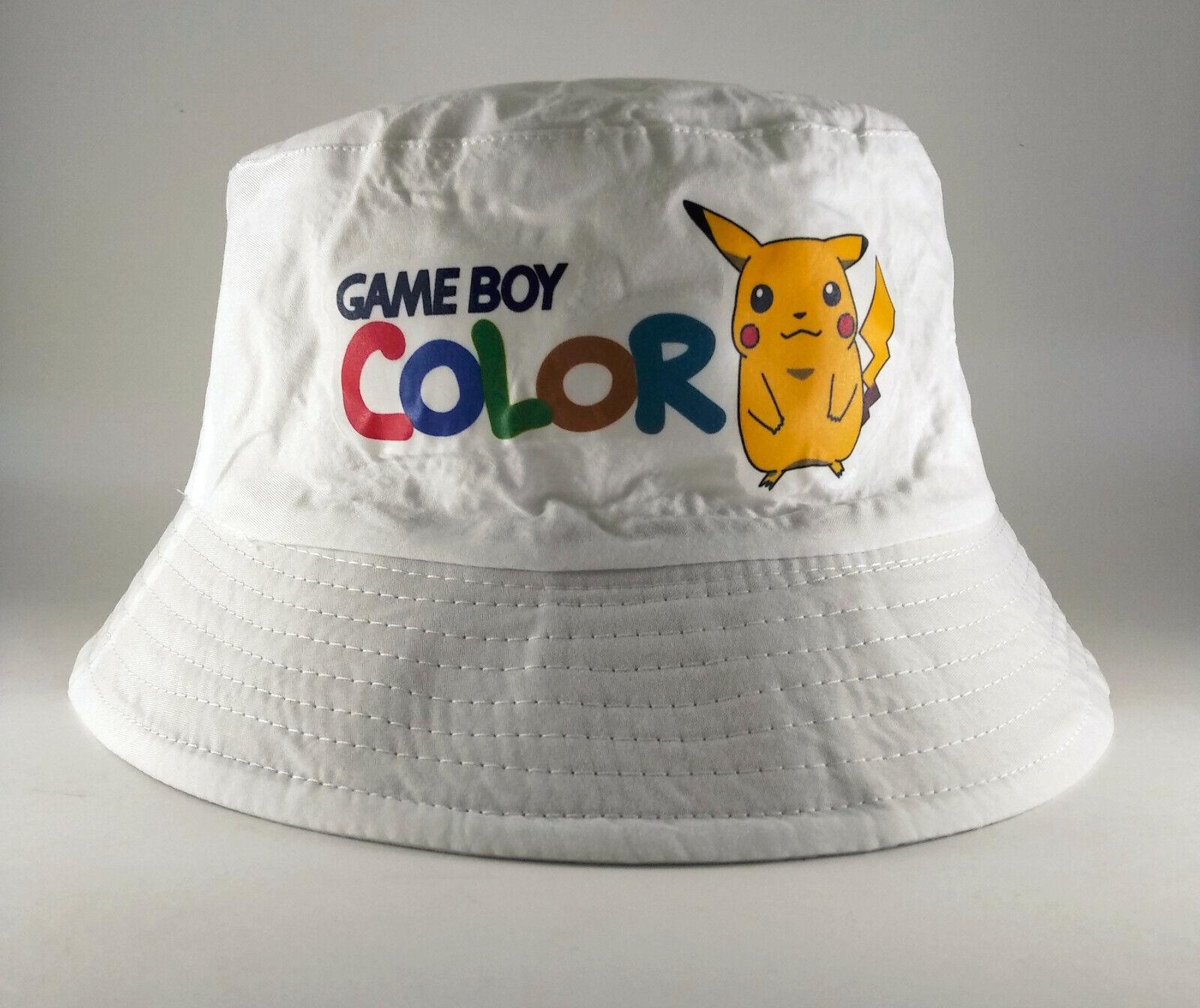 Bob Lorenzo Game Boy Color Bucket Hat Chapeau Retro 90s Pikachu Pokemon Cap