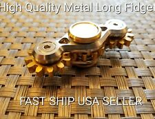 2 metal Gear Auction EDC Hand Fidget Spinner Fingertip Gyro Anti Stress Toy Hot