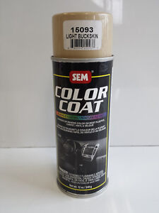 sem light buckskin 15093 color coat vinyl carpet auto body restoration car paint ebay. Black Bedroom Furniture Sets. Home Design Ideas