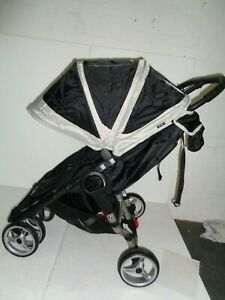 Baby-Jogger-city-mini-double-Black-Pushchair-Double-Seat-Stroller-RPP-449-99