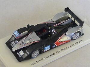 Spark S2531 - Lola B11 / 40 Judd Pmec Racing N ° 39 Le Mans 2011 1/43