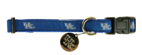 Sporty K9 NCAA Kentucky Wildcats Ribbon Dog Collar