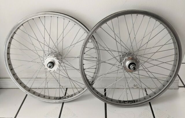 ACS RL Edge Rims & ACS high flange Hubs 20 X 1.75 OLD School BMX Redline RL20II