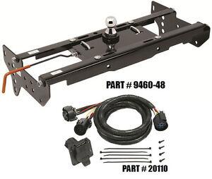 gooseneck trailer wiring harness draw-tite hide-a-goose gooseneck hitch w/ 7' wiring ... gooseneck hitch wiring harness