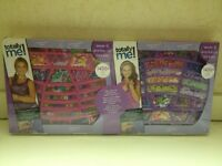 Totally Me Alphabet Bead Bundle Kit - 2 Sets Of Beads - Brand In Box