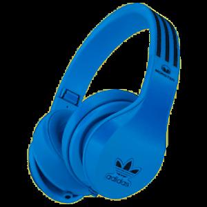 Monster-Adidas-Originales-Auriculares-Sobre-las-Orejas-de-Alto-Rendimiento-Azul