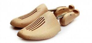 Premium Schraubspanner Gr. 42/43 Holzschuhspanner (Buche) Schuhspanner