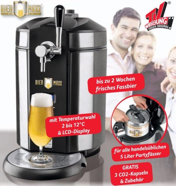 Biermaxx Zapfanlage Bierzapfanlage Bier Maxx für 5l Partyfässer
