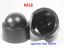 M5-M6-M8-M10-M12-M14-M16-M18-M20-M-Bolt-Nut-Domed-Cover-Caps-Plastic-Black miniatuur 10