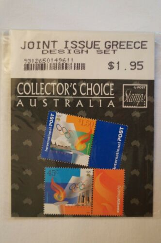 Olympic Games Collectable Sydney 2000 Collector's Choice Joint Issue w Greece