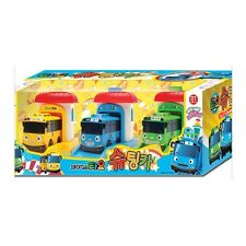 The Little Bus Tayo Rogi Rani Shooting Cars & Garage Toy Set 3pcs -FreeShip
