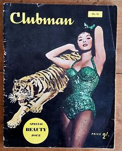 EO-MAGAZINE-ANGLAIS-PIN-UP-CLUBMAN-N-74-SPECIAL-ISSUE-BEAUTY-RAYMOND-CHANDLER