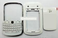 White Housing cover faceplate case fascia facia for BlackBerry Bold 9900 9930