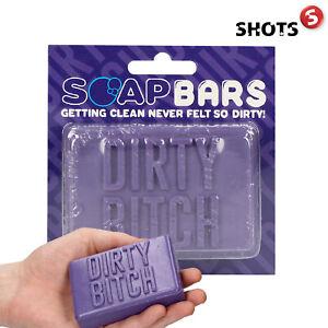 Shots DIRTY BITCH SOAP Gift Sapone Saponetta Forma Mano Regali Giochi Divertenti