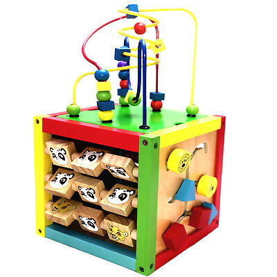 Motorikwürfel  Motorikschleife Spielwürfel Lernspielzeug Steckbox Spielzeug Neu