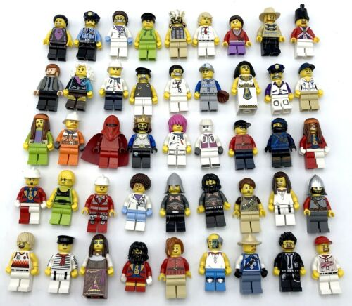 LEGO NEW 10 MINIFIGS TOWN CITY SERIES STAR WARS NINJAGO FIGS SET MORE