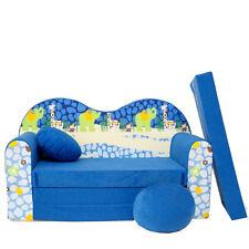 C16 S Minicouch Kindersofa Kinder Baby Sofa Set Kindersessel Sitzkissen Matratze