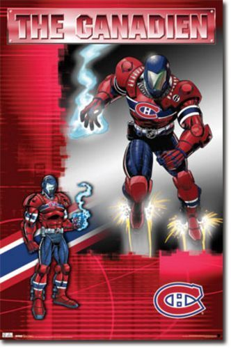 POSTER Montreal Canadiens The Guardian NHL