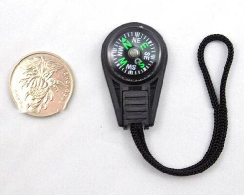 Convenient Small Creative keychain compass direction discrimination outdoorRU