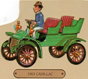 1903-Cadillac-Touring-Car-Minicraft-Highway-Pioneers-1-32nd-Scale-Unbuilt-Kit