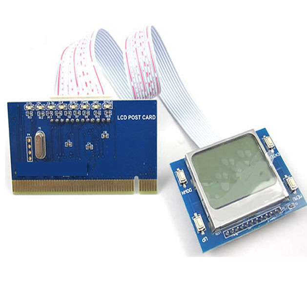 Sintech PCI pc motherboard diagnostic post debug tester test card LCD display