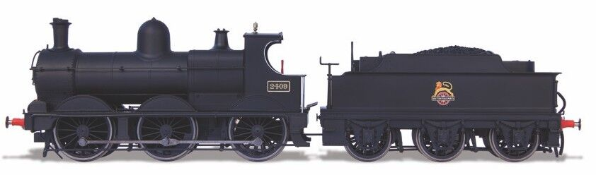 Oxford järnväg OR76DG002 Deans bras Loco - 2409 Early 1 76