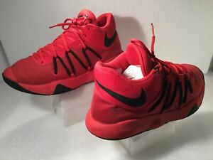 Men-s-Nike-KD-Athletic-Shoes-Size-9-5M-Synthetic-Red-897638-600