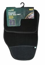 Brookstone 4 Piece Carpet Car Mat Set