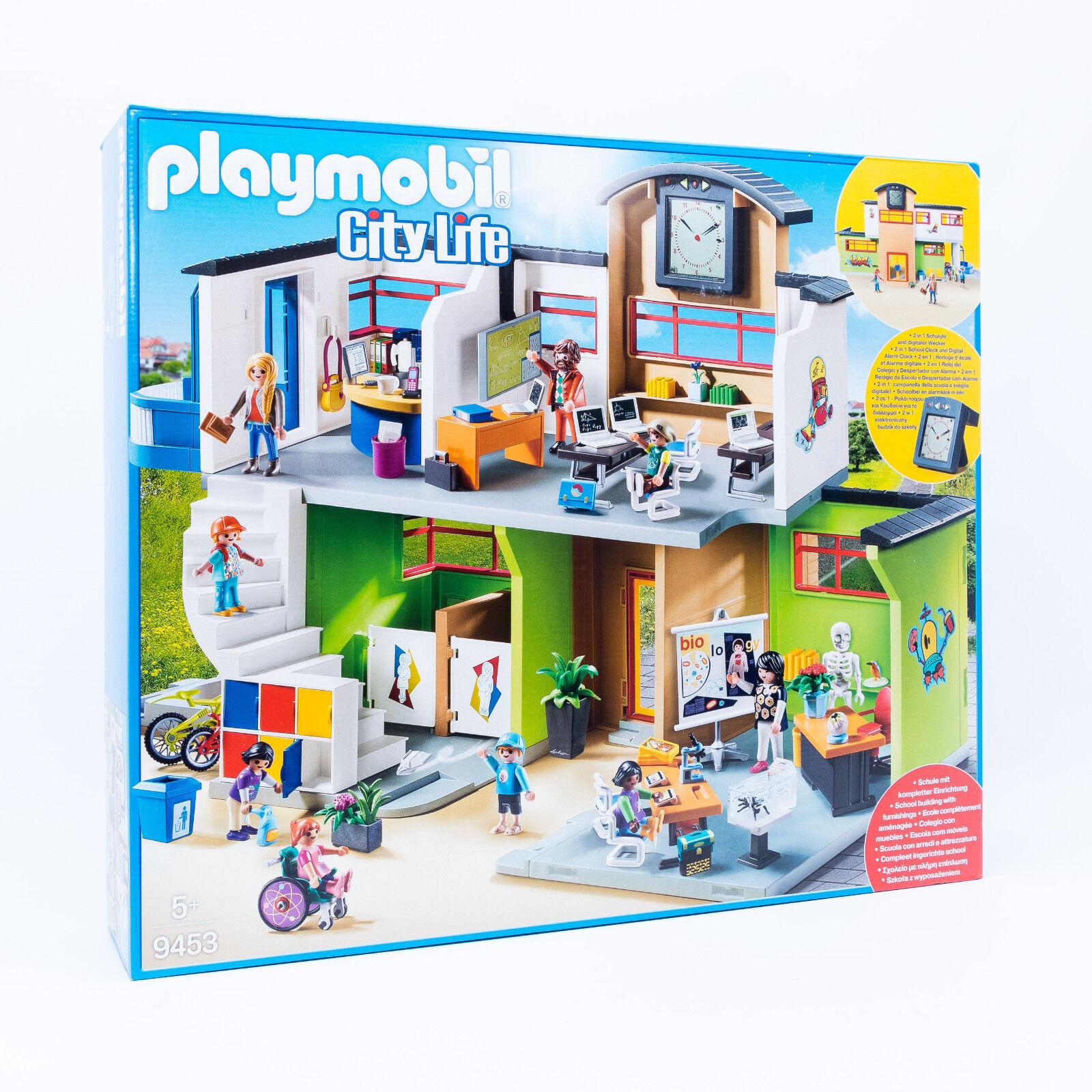 il più alla moda PLAYMOBIL ® 9453 città Life Life Life GReE SCUOLA CON istituzione & Personaggi Nuovo Scatola Originale  miglior servizio