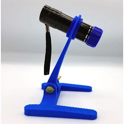 3d Printed Flashlight Holder Harbor Freight Flashlight Kids Camping Project Blue