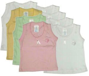 120fceee Image is loading Newborn-Baby-Girls-Tank-Top-Undershirt-Sleeveless-Shirt-