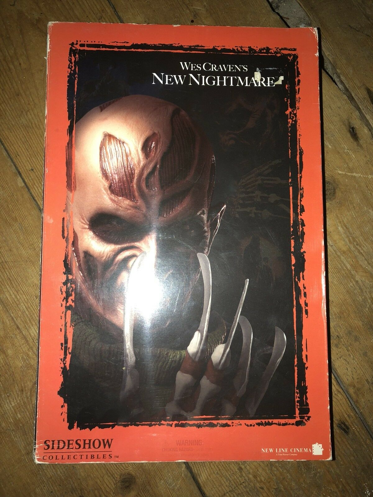 Sideshow Wes Craven's New Nightmare FROTdy Krueger AF SSC 118