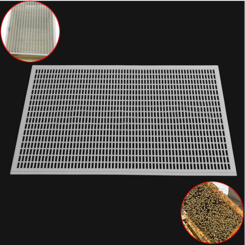 Plastic Bee Queens Excluder Trap Net Grid Beekeeping Equipment For 10 Frame Box