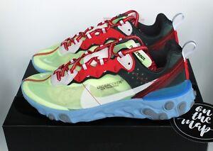 premium selection 2bbd5 e9908 ... Nike-reagissent-Element-87-x-Undercover-Volt-Bleu-