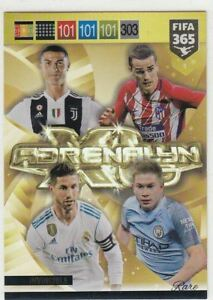 Panini-Fifa-365-2019-Adrenalyn-XL-Power-Up-Fans-Multiple-Rare-Badge-Fans-Auswahl