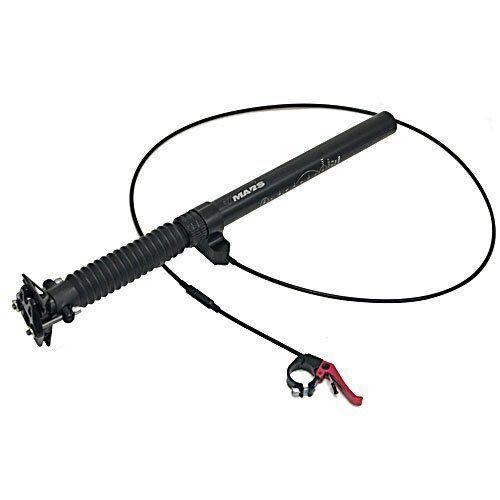 TMARS 419S Mechanical Drop Seatpost 445mm 445mm 445mm w  Remote, 27.2  30.9 31.6mm, negro e47cef