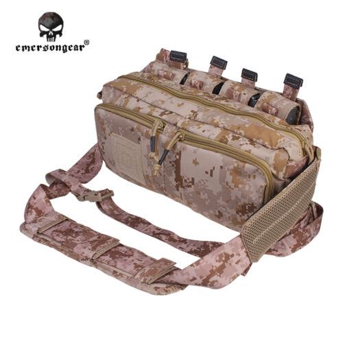 Emerson Multi-functional Sling Bag Waist Backpack Wargame RECON Multicam BK